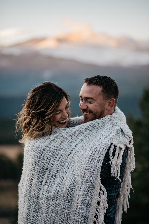 Colorado wedding photographer for adventurous, boho brides.