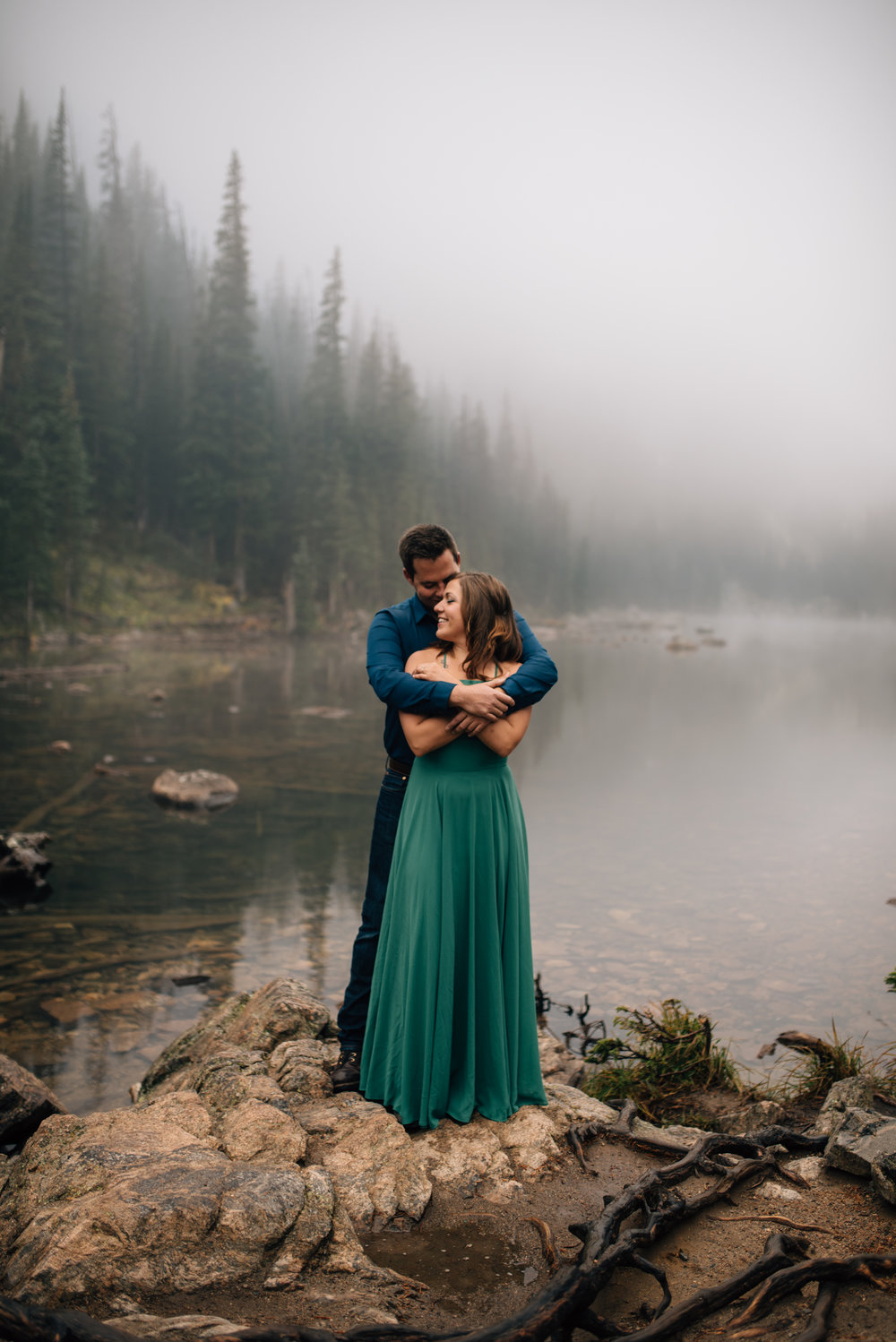 Colorado mountain wedding photographer.
