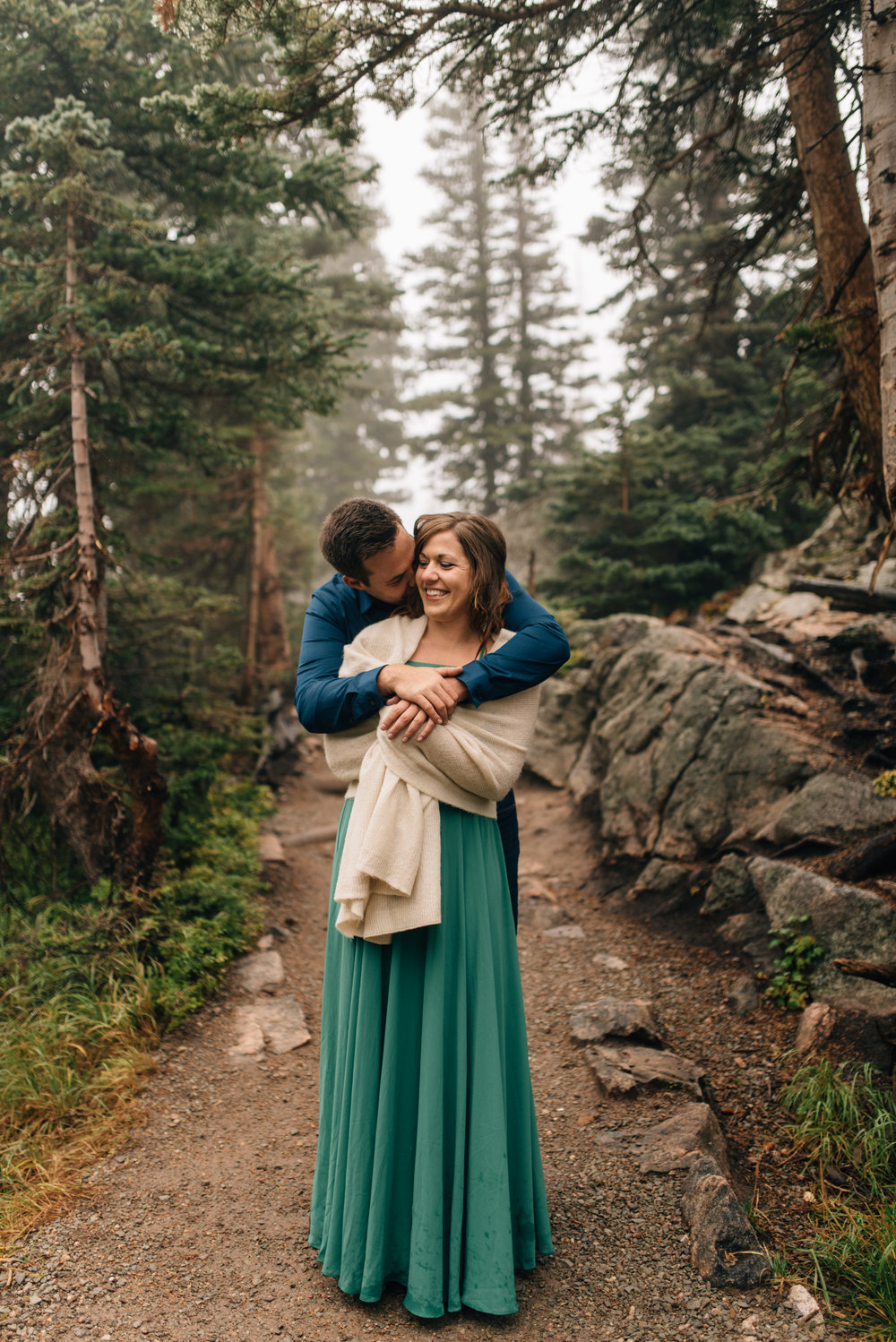 Rocky Mountain National PArk intimate wedding.