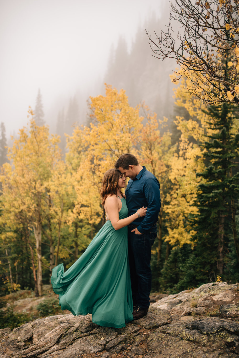 Breckenridge, Colorado adventure elopement.