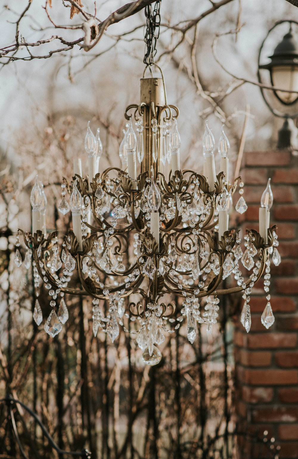 Rustic wedding in the Chandelier Barn at Lionsgate Event Center in Lafayette, Colorado