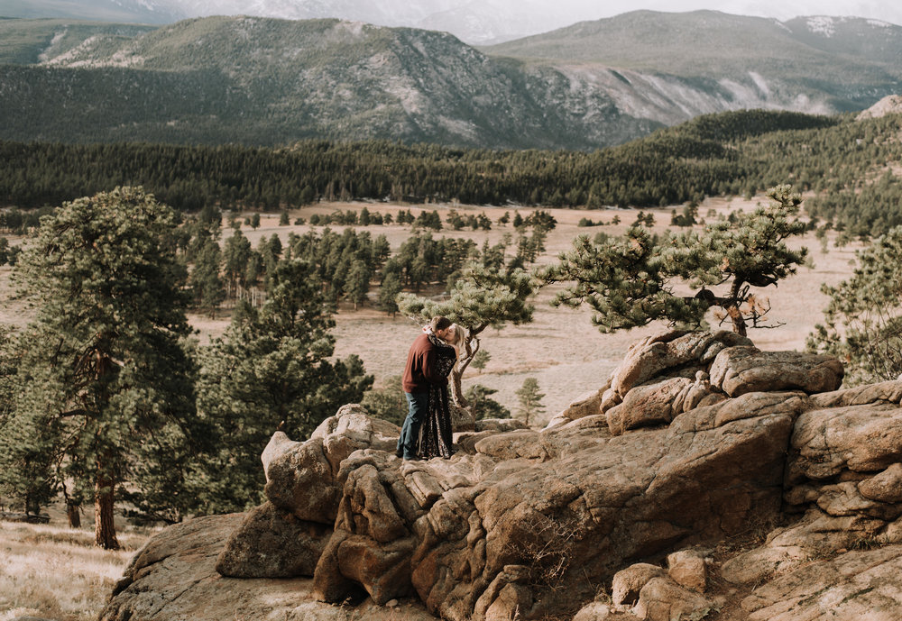 Colorado based boho wedding photographer