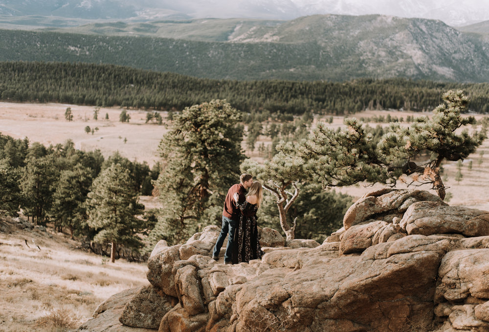 Denver, Colorado boho intimate wedding photographer