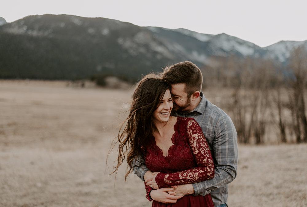 Mountain wedding photographer based in Denver