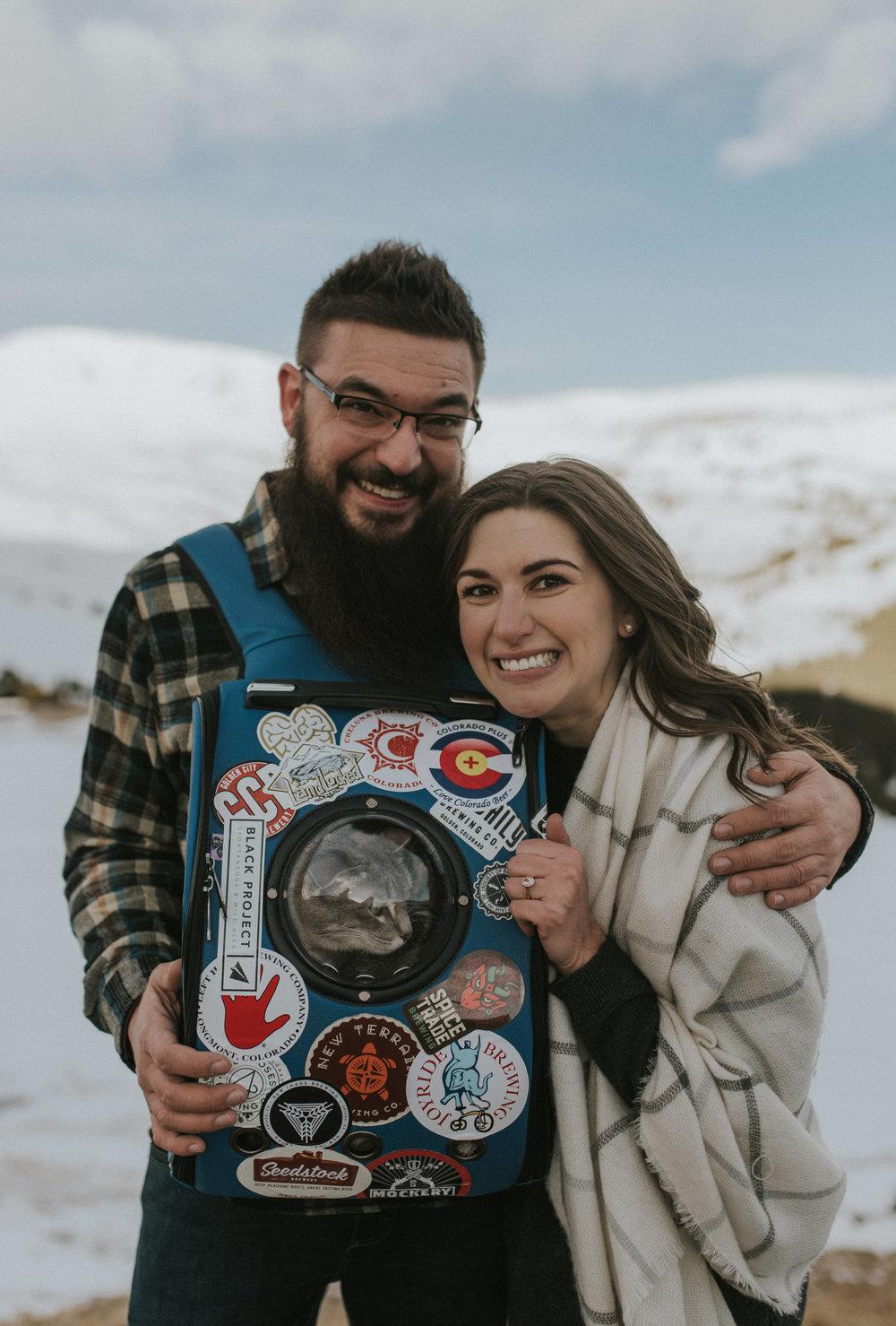 Denver, Colorado based destination adventure wedding photographer.