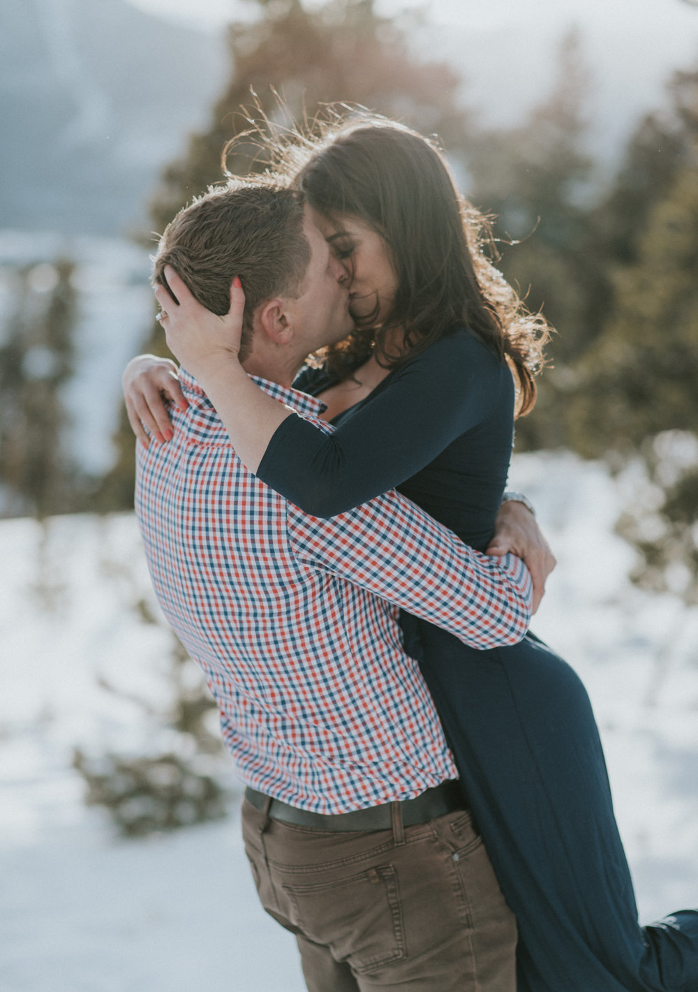 Intimate wedding and adventure elopement photographer in Colorado.