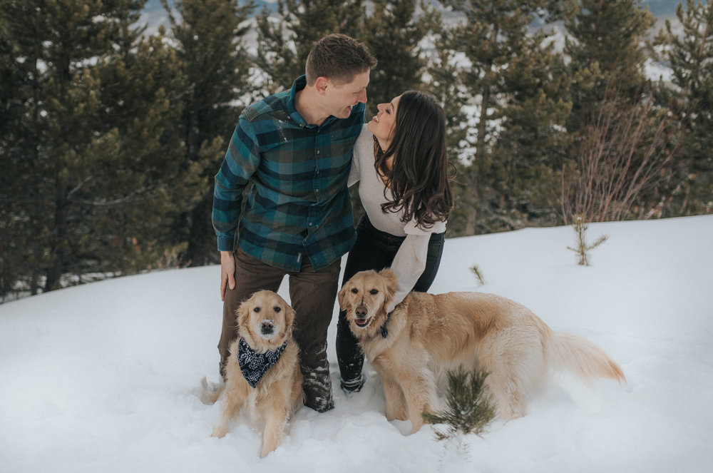 Colorado destination elopement photographer for adventurous couples