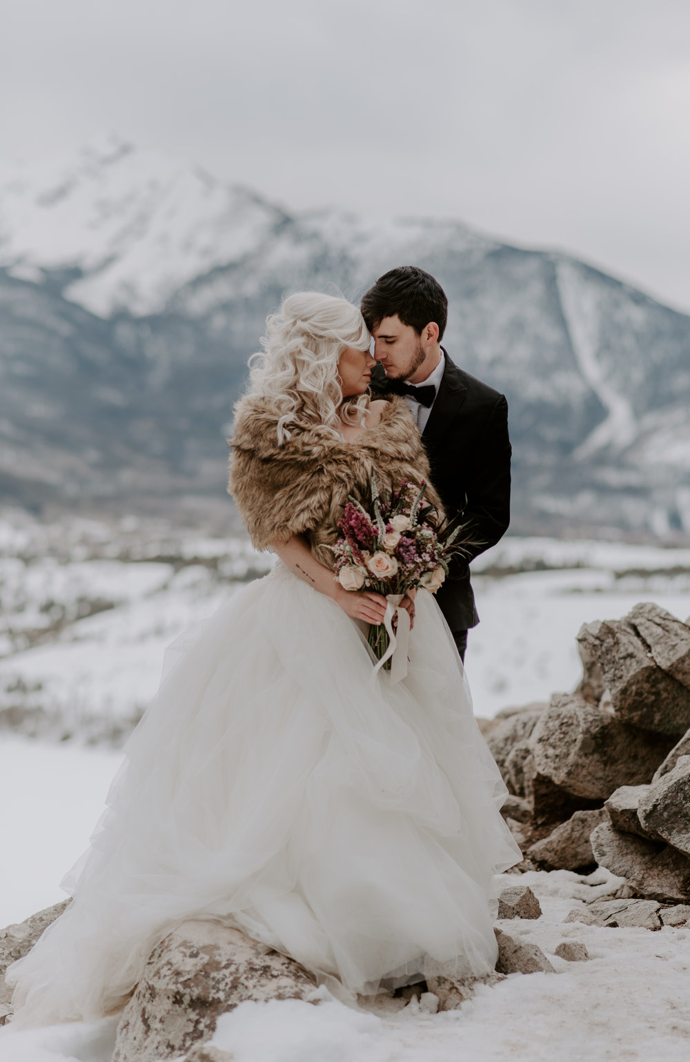 Colorado elopement at Sapphire Point.