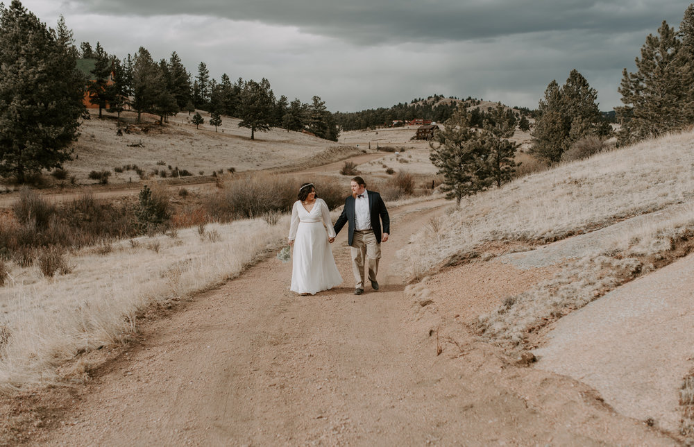 Airbnb elopement in Colorado Springs