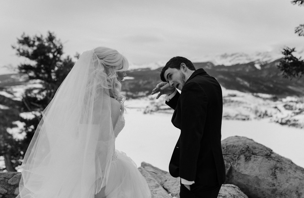 Dillon, CO elopement at Sapphire Point.