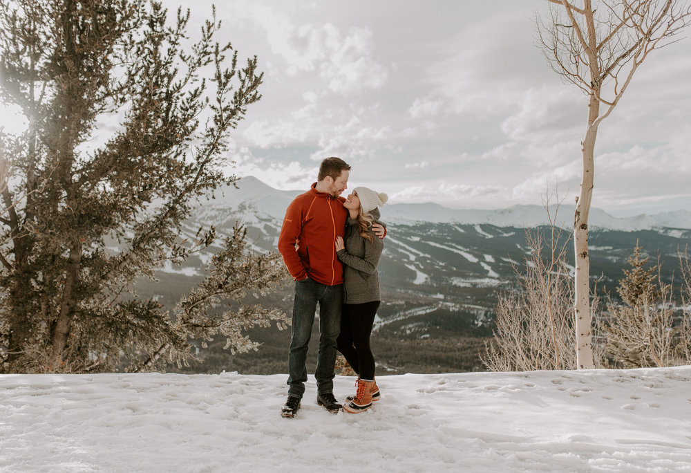 Intimate Colorado wedding photography for adventurous couples