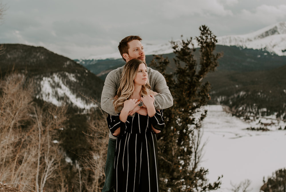 Boreas Pass Colorado elopement photographer