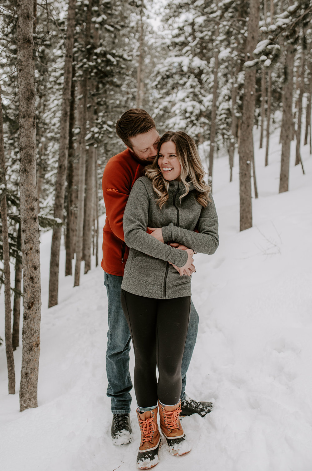 Boreas Pass engagement. Breckenridge, Colorado engagement and wedding photographer.