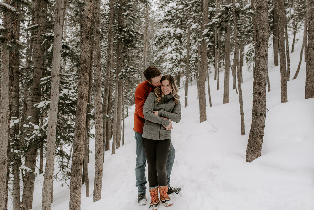 Boreas Pass adventure engagement session