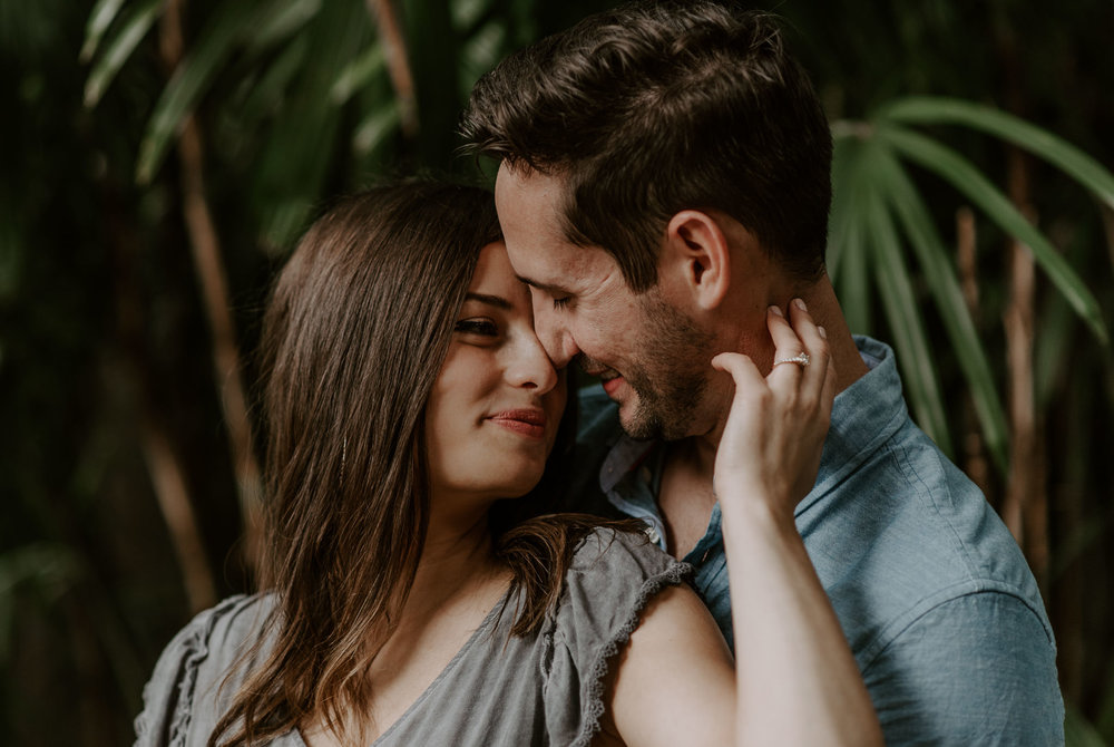 Sunken Gardens engagement session photographer in Florida