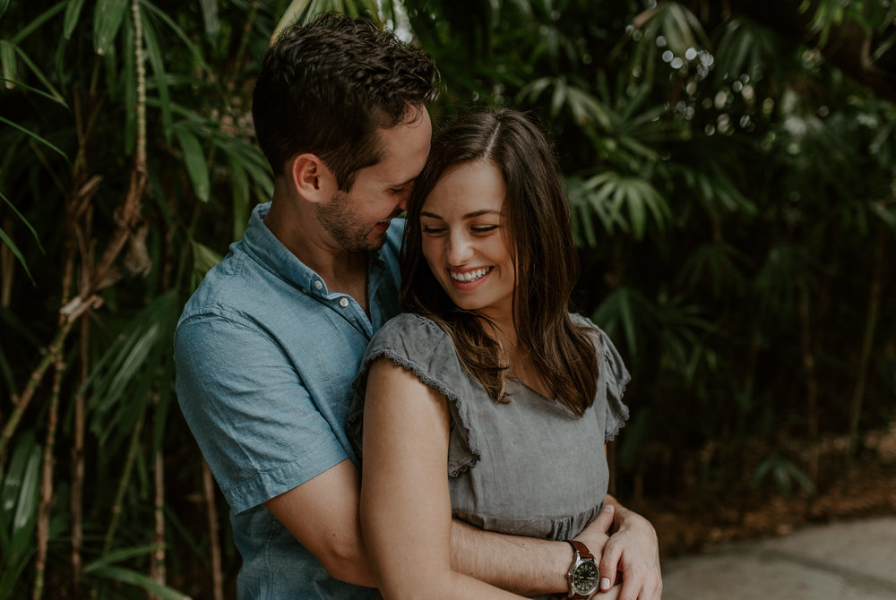 Sunken Gardens in Florida wedding and engagement photographer