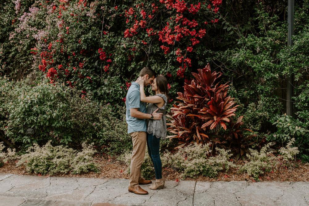 Sunken Gardens wedding photography.