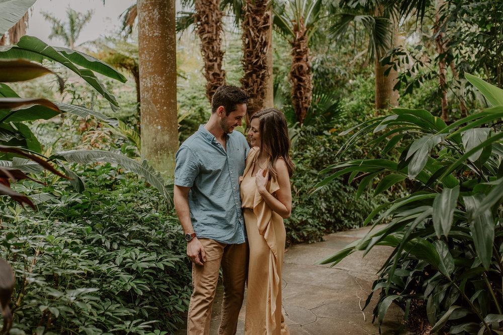 Sunken Gardens wedding photos in Florida