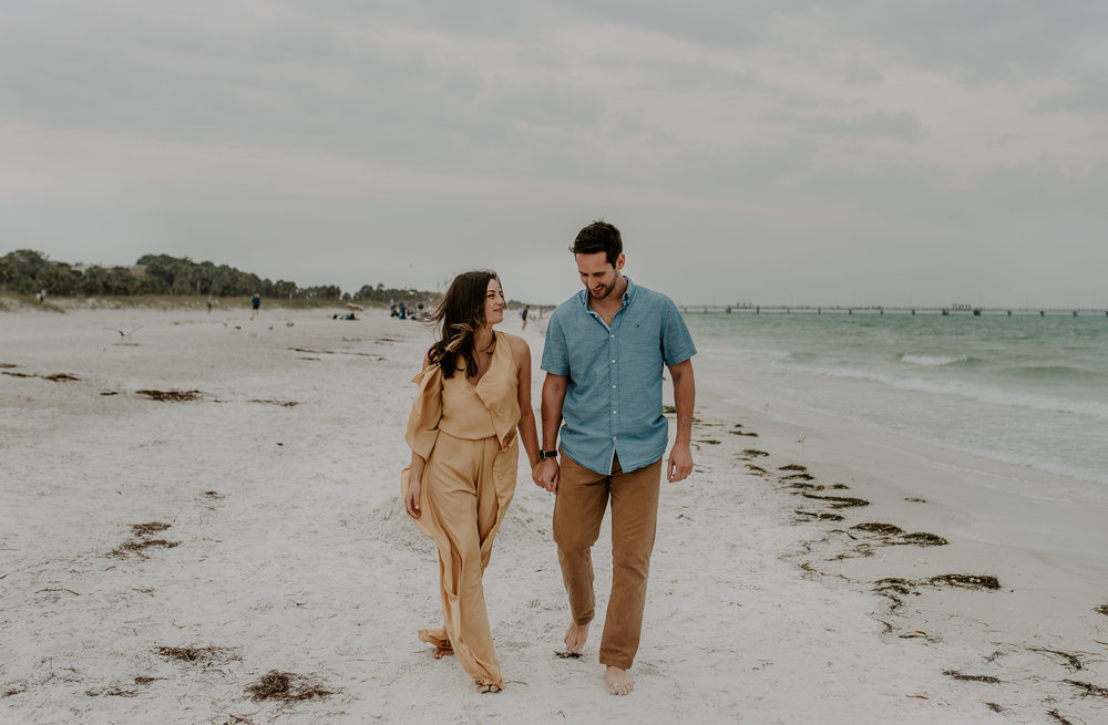 Engagement session in St. Petersburg, Florida. St. Petersburg wedding photographer