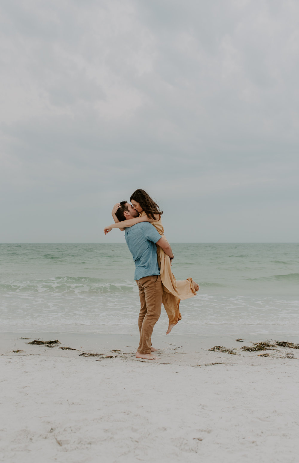Engagement session in St. Petersburg, Florida