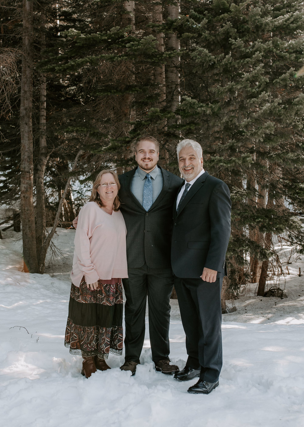 Adventure elopement photographer. Bear Lake elopement