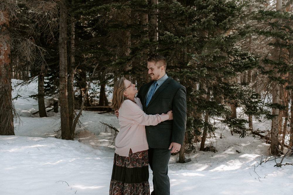 Colorado based adventure wedding photographer