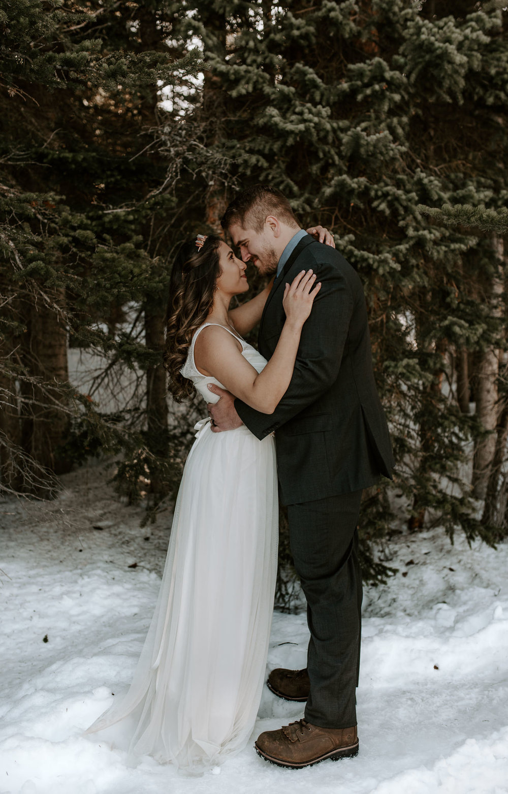 Colorado hiking elopement photographer