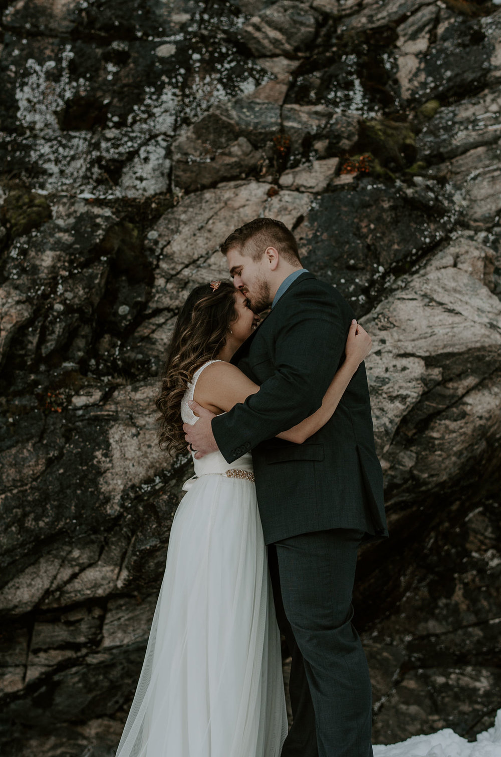 Hiking elopement in Rocky Mountain National Park