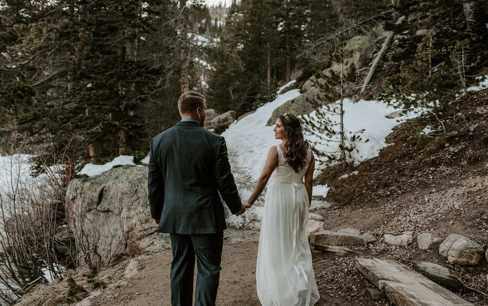 Mountain wedding photographer Colorado