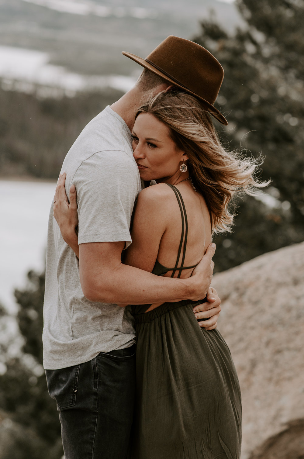 Sapphire Point adventure engagement session