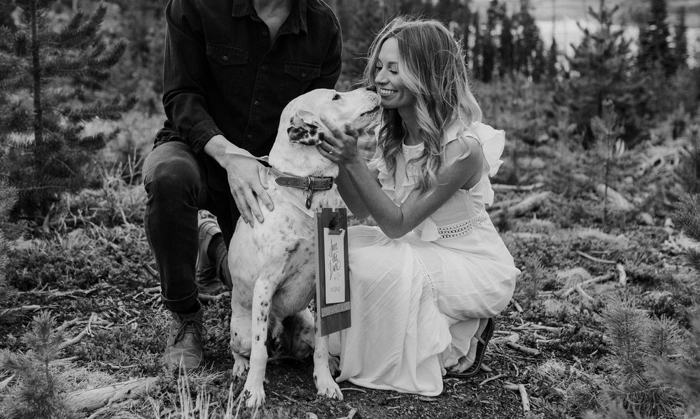 Breckenridge, Colorado engagement session at Sapphire Point. Breckenridge elopement and wedding photographer
