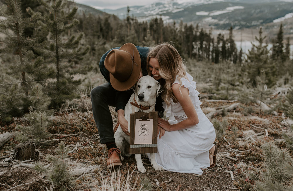 Sapphire Point wedding photographer in Colorado