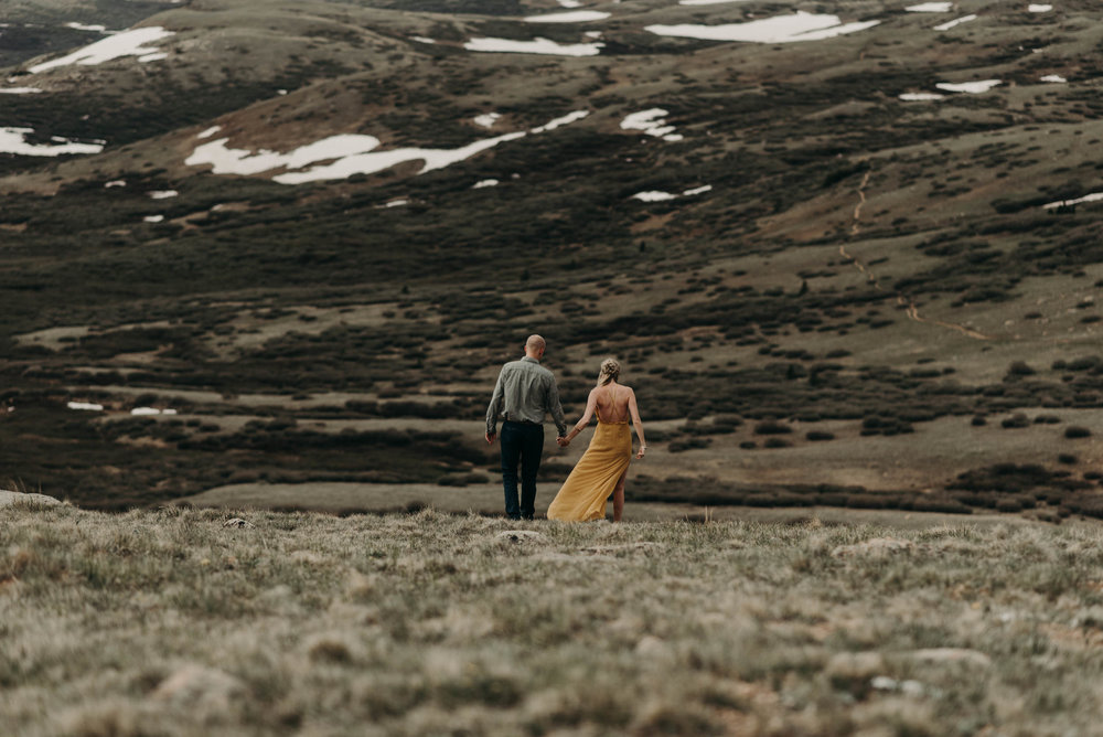 Colorado elopement photos at Guanella Pass