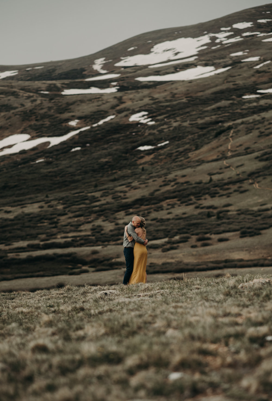 Colorado elopement photographer, Guanella Pass elopement