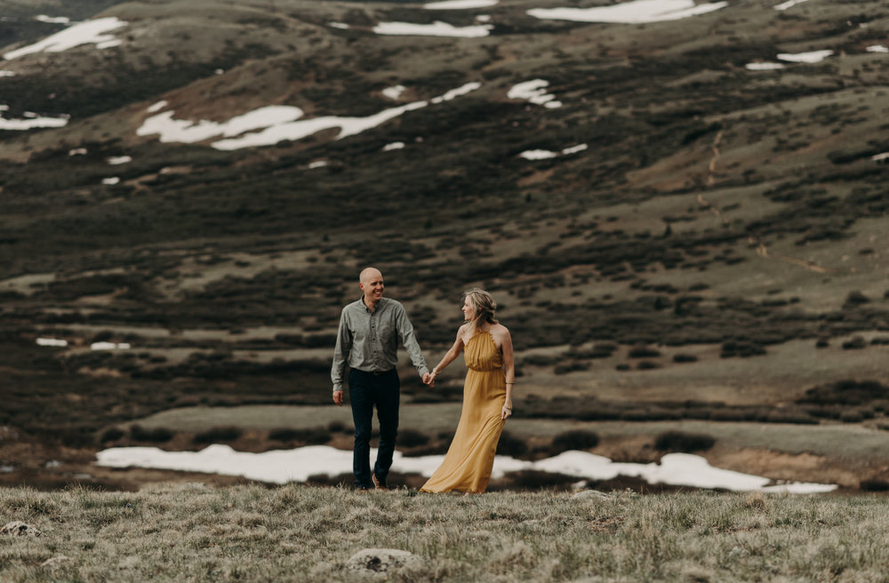 Guanella Pass elopement photos. Colorado elopement and wedding photographer.