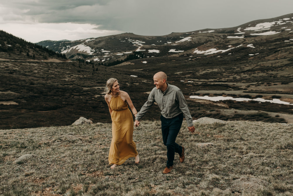 Colorado elopement photographer. Wedding at Guanella Pass.