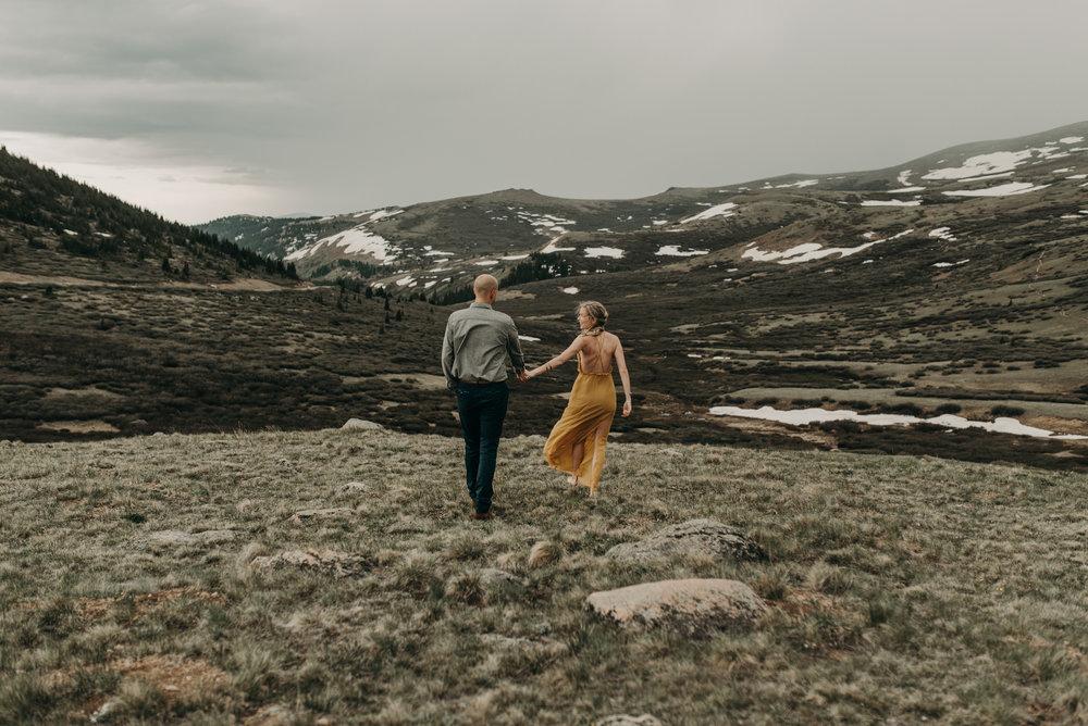 Adventure elopement photographer in Colorado
