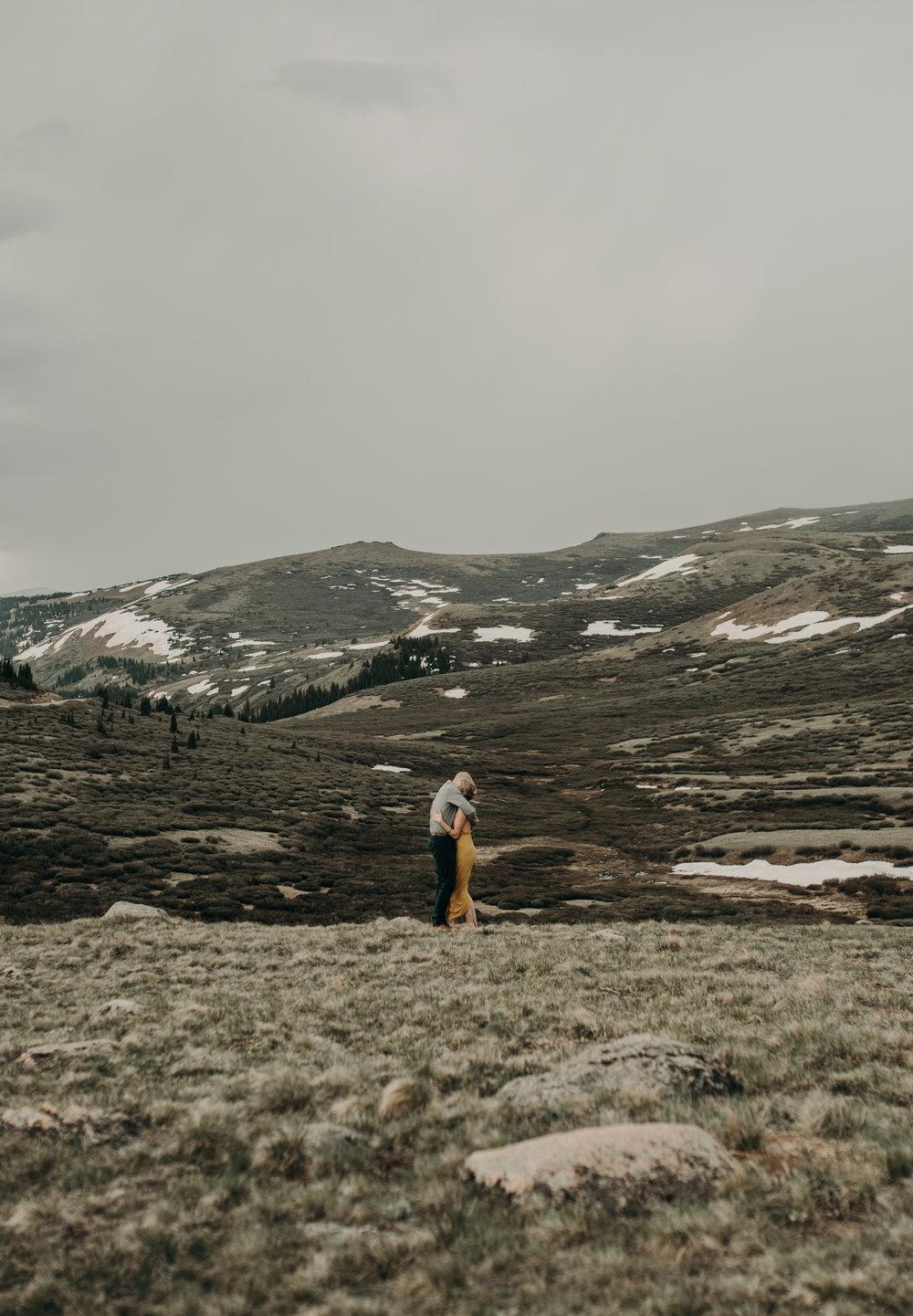 Colorado based adventure elopement photographer