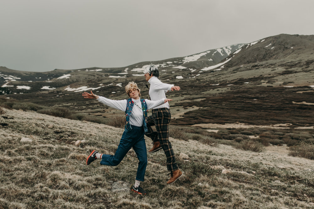 Engagement photographer in Georgetown, Colorado