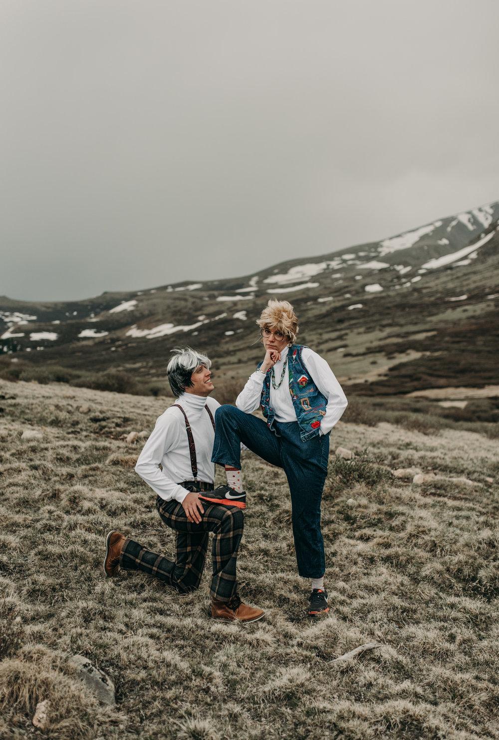 Wedding photographer in Georgetown, Colorado