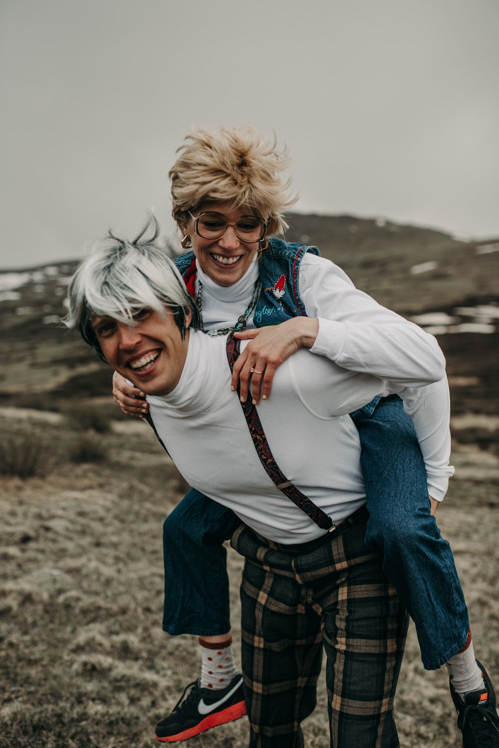 Georgetown, Colorado engagement session