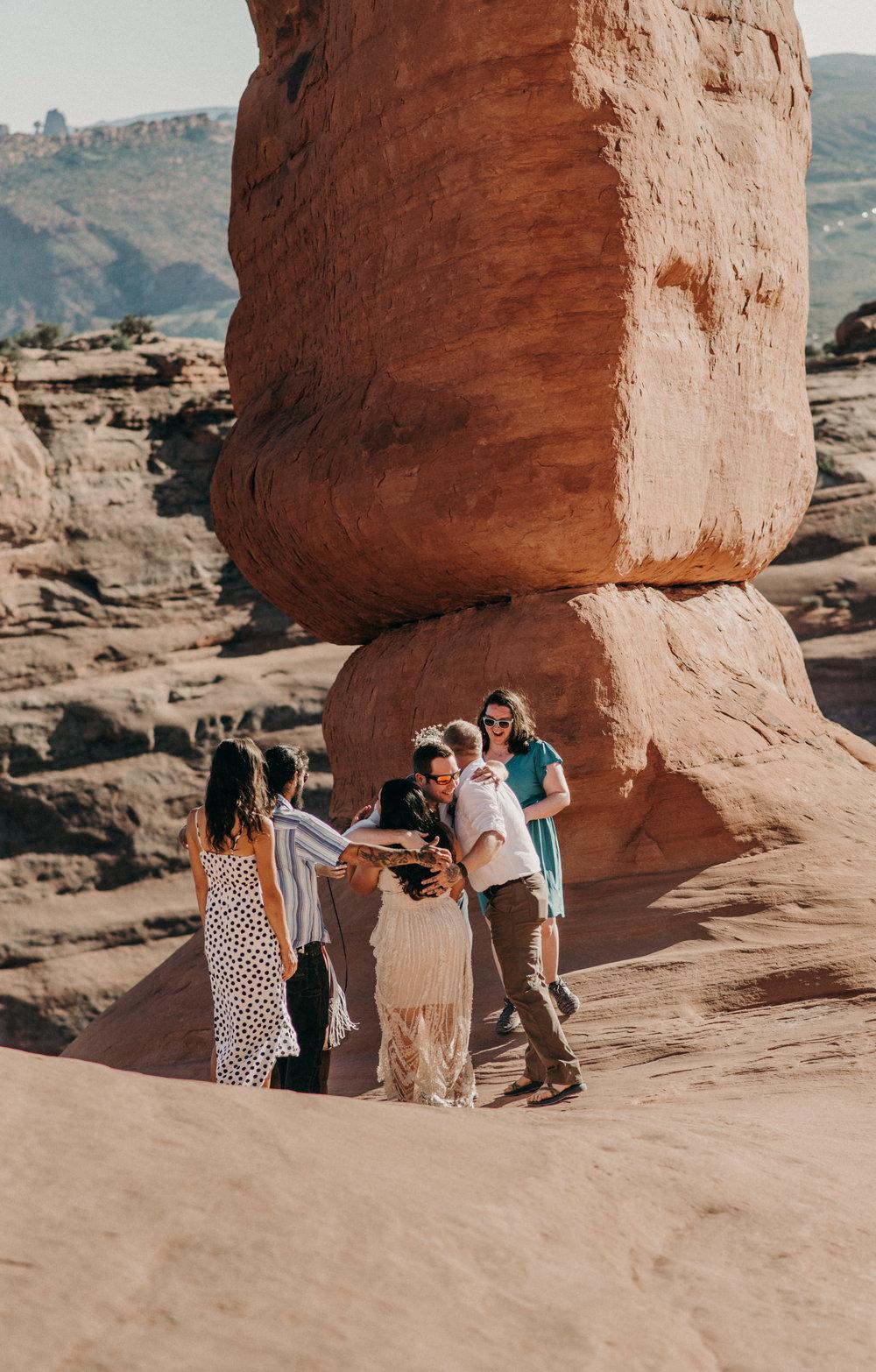 Moab wedding photographer. Arches National Park elopement photographer.