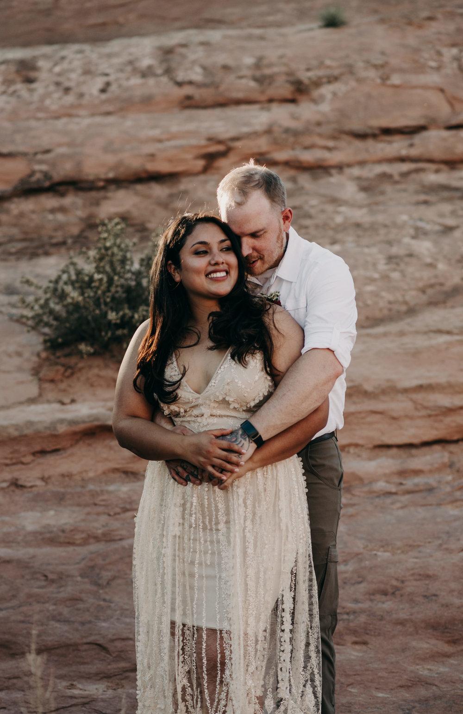 Moab wedding photography. Arches National Park wedding.