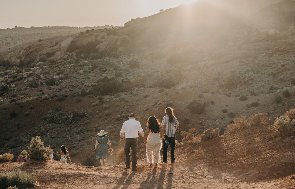 Elopement at Arches National Park. Moab elopement photographer.