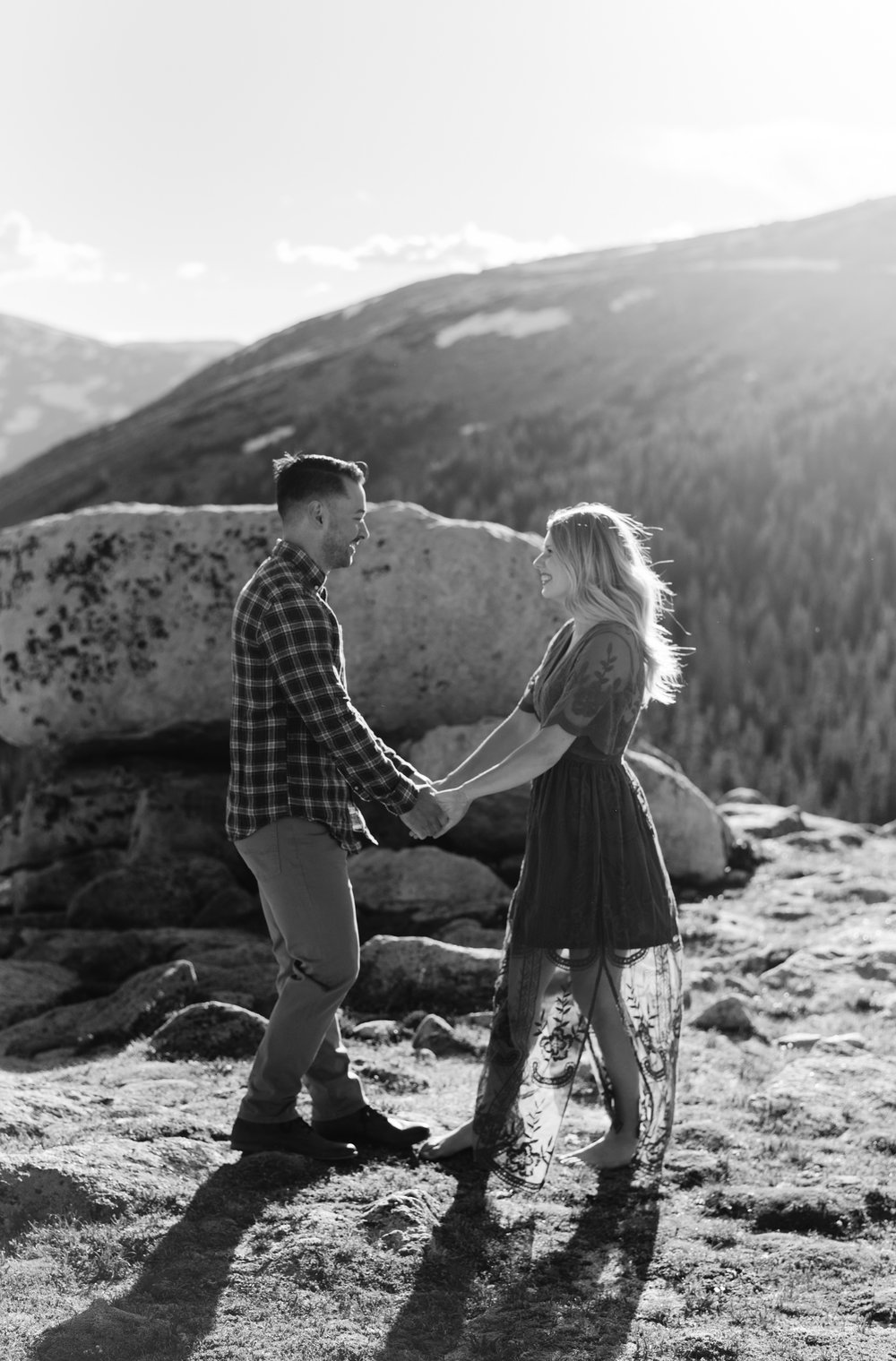 Colorado mountain wedding photos. Colorado wedding photographer.