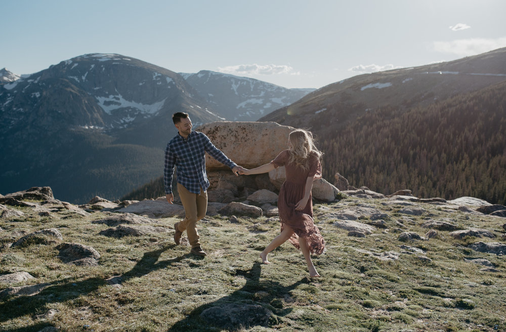 Colorado based mountain wedding and elopement photographer