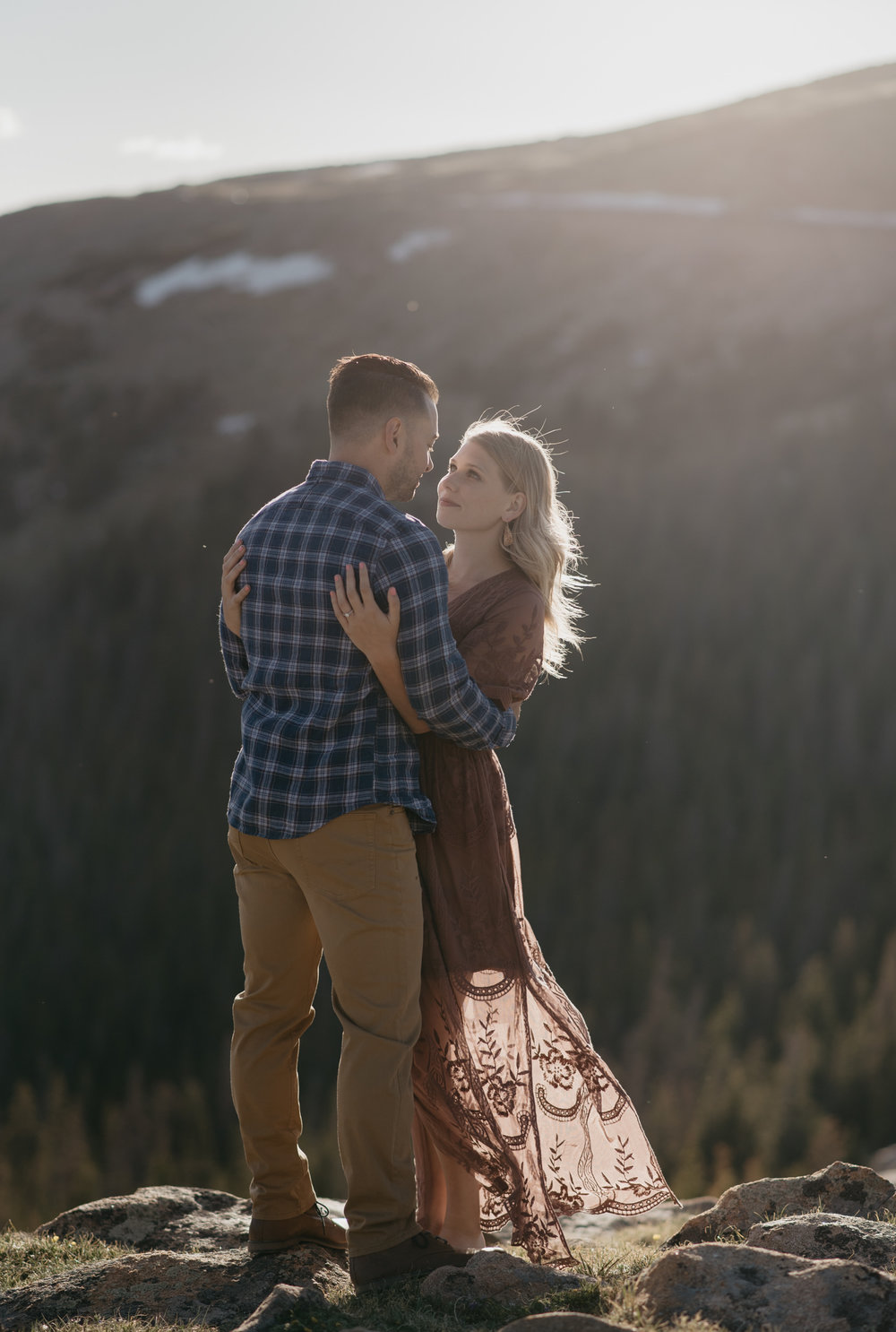 Colorado elopement photographer at Rocky Mountain National Park.