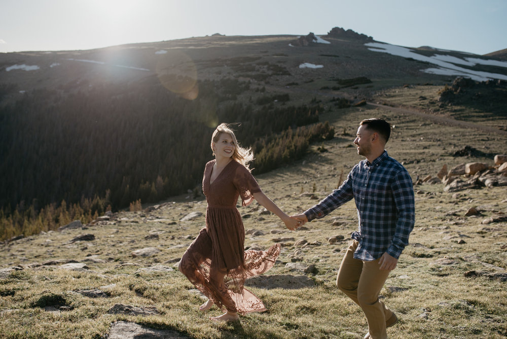 Rocky Mountain National Park elopement and wedding photographer