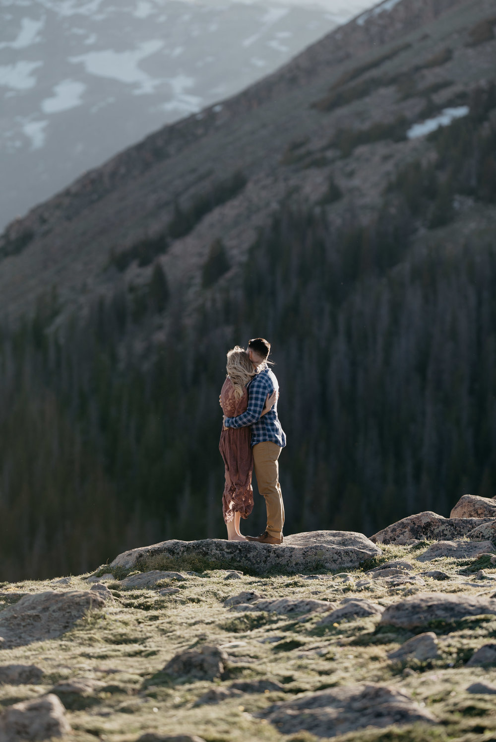 Trail Ridge Road elopement in Rocky Mountain National Park