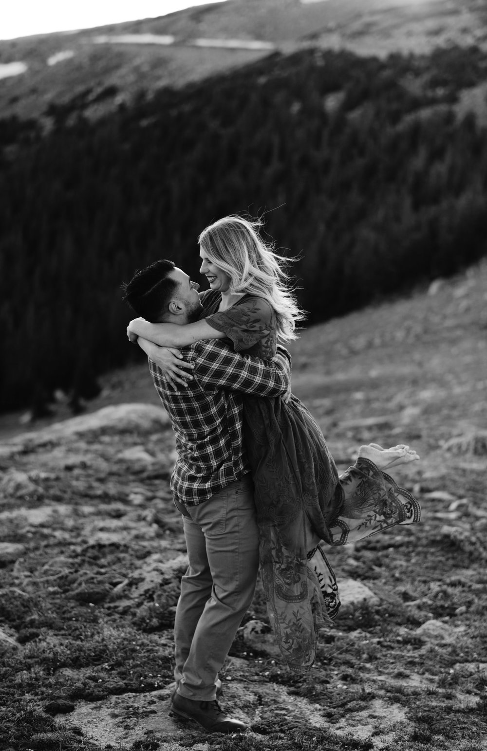 Colorado engagement session photographer